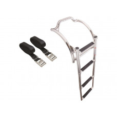 CURVED INFLATABLE BOATS LADDERS