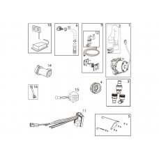 COMPACT TOILETTES ACCESSORIES AND SPARE PARTS