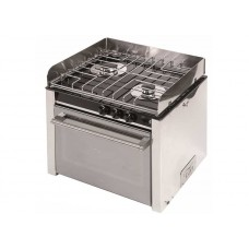 2 BURNER CAN COOKER WITH OVEN