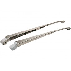 POLISHED S/STEEL ADJUSTABLE WIPER ARMS
