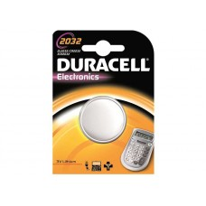 DURACELL 2032 TYPE BATTERY
