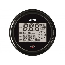 ECMS ALL BLACK GPS SPEEDOMETER
