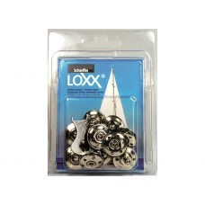 10 FABRIC BASE CONNECTORS LOXX-TENAX BLISTER