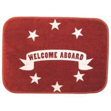 """WELCOME ABOARD"" MAT"