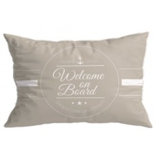 40X60 WELCOME EMBROIDERED CUSHION