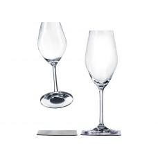 SET 2 MAGNETIC CHAMPAGNE GLASSES