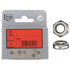 HEX NYLOCK NUTS DIN 985