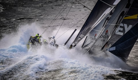 March 30, 2015. Team Brunel rounding Cape Horn.